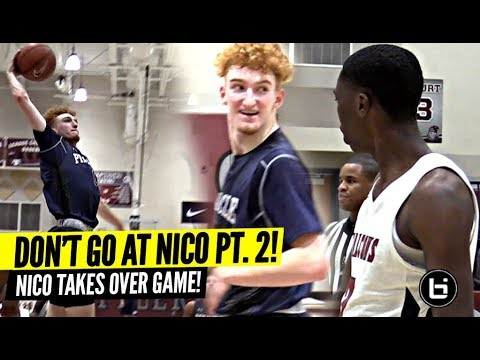 DON'T TALK TRASH TO NICO MANNION! Down 16 Nico TAKES OVER GAME!!