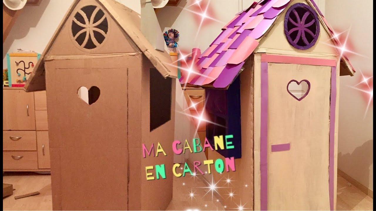 Cabane En Carton Diy h/s : réaliser une cabane en carton facilement