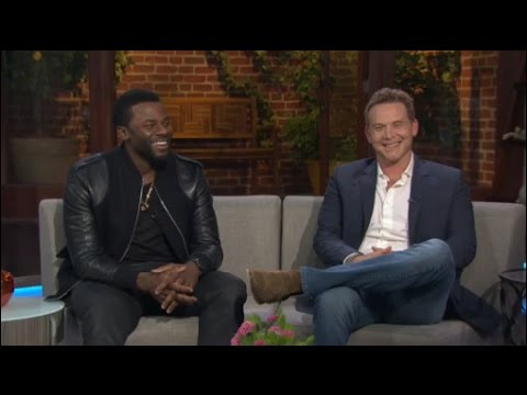 Derek Luke & Cole Hauser from the AT&T Audience Network series 'Rogue'