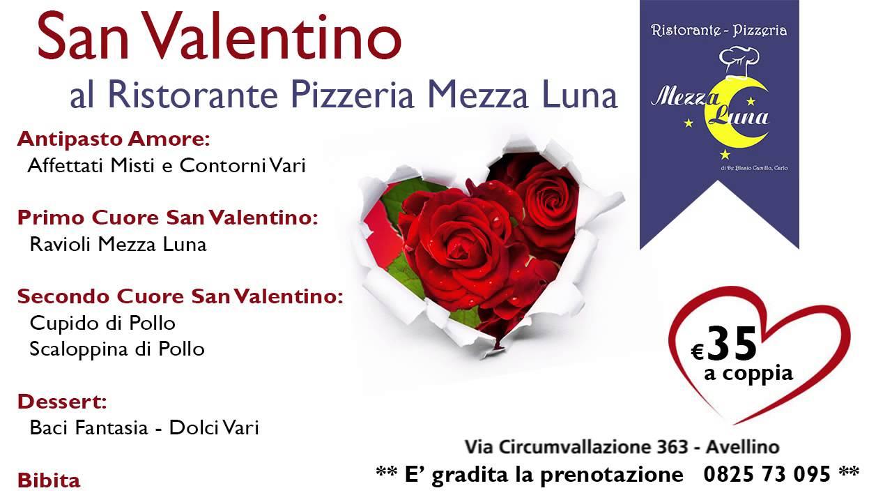 Ristorante pizzeria mezza luna men di san valentino for Pensierini di san valentino