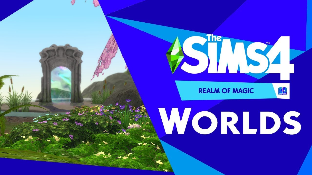 The Sims 4 Realm of Magic: Worlds Overview & Introduction Video