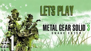 Metal Gear Solid: HD Collection - MGS3 Livestream - Xbox 360 - Part 1