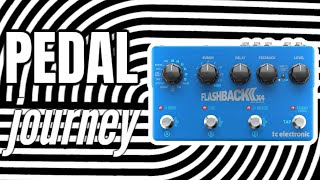 NEW! tc electronic FLASHBACK 2 x4 2019 MKII version DELAY pedal DEMO