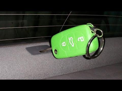 3. Awaryjne otwieranie bagażnika Audi A2
