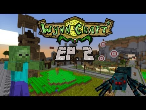 Wynncraft Ep 2 - Cook Assistant, Spider Cave, Underwater