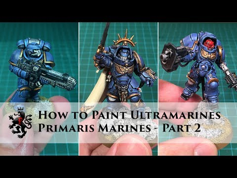 How to Paint Ultramarines - Primaris Space Marines Part 2 of 3 - Inceptors, Hellblasters & Captain