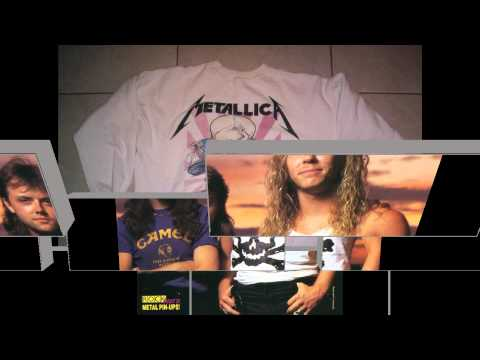 Metallica 1988 Damaged Justice Tour