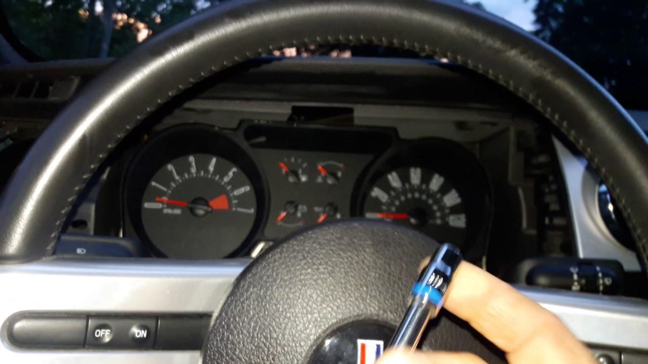 2005 2006 2007 2008 2009 Mustang Instrument Panel Repair