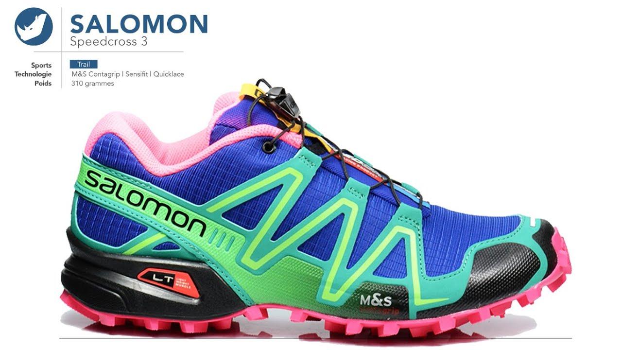 chaussure de trail salomon speedcross femme