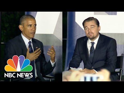 President Obama Talks Climate Change With Leonardo DiCaprio | NBC News