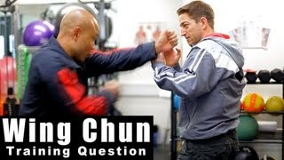 Wing Chun training - wing chun how to deal with street attack Q13