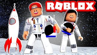 WIR WENT AUF EINEM SPACE MISSION TO MARS! - ROBLOX TIME TRAVEL ADVENTURES!