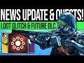 Destiny 2 | NEWS UPDATES & FUTURE CONTENT! Armor Exploit, Secret Quest, ARC Preview & DLC Reveals!