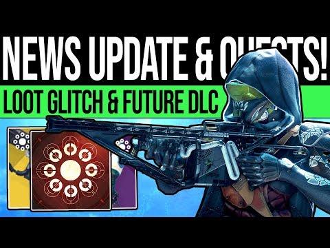 Destiny 2 | NEWS UPDATES & FUTURE CONTENT! Armor Exploit, Secret Quest, ARC Preview & DLC Reveals! thumbnail