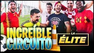 INCREIBLE CIRCUITO DE FUTBOL REAL CON LA ÉLITE