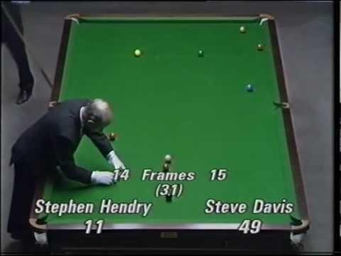 Hendry v Davis 1990 UK Final Shootout