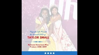 National American Miss Farewell DVD by Pageants 2 Go - Taylor Small