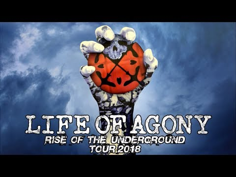 LIFE OF AGONY - 'Rise of the Underground' West Coast Tour-Trailer | Napalm Records