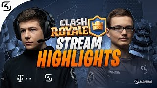 Clash Royale Streaming Highlights