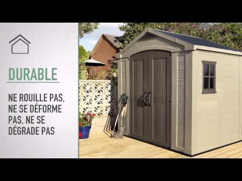 Keter Factor 8x6 Abris de Jardin - YouTube