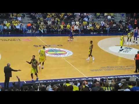Son Bölümler Ve Maç Sonu Görüntüleri | Fenerbahçe Doğuş - Anadolu Efes