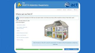 UKATA Asbestos Awareness e-learning demo