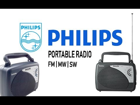 PHILIPS PORTABLE RADIO | UNBOXING | REVIEW | FM, MW, SW