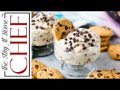 Chocolate Chip Cookie Dough Pudding