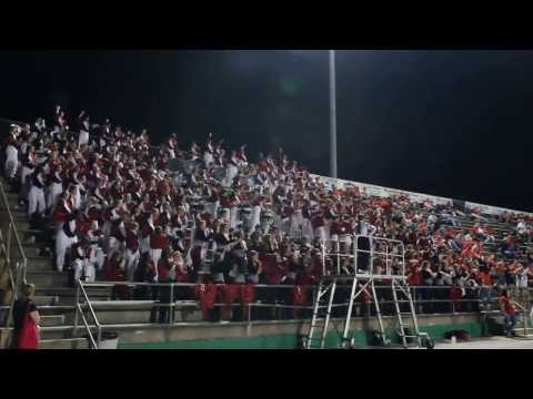 """""""The Big Red Machine"""" in the stands at Choctawhatchee Senior High School 10-12-12 (Part 2)"""