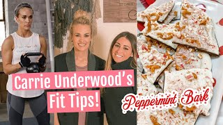 Carrie Underwood's FIT GIRL HACKS// Peppermint Bark Video