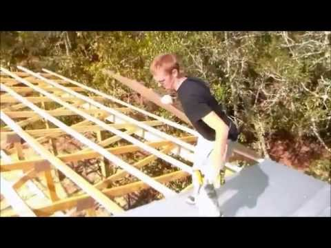 12 Of 13 Sheet Metal Roofing Wood Truss Building