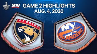 NHL Highlights | Panthers vs. Islanders, Game 2 – Aug. 4, 2020