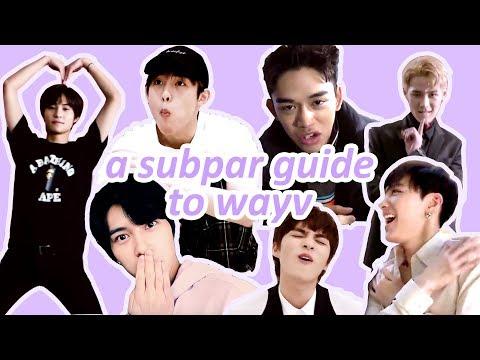 a subpar guide to wayv