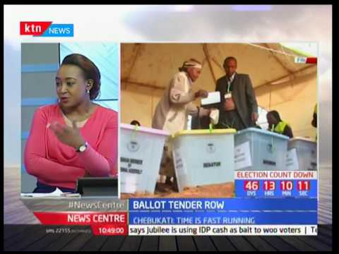 NASA team to head to court to bar IEBC from Proceeding with the ballot printing