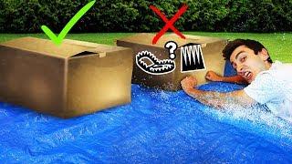 Mystery Box SLIP 'N SLIDE! (Don't Slide Through the WRONG Box)