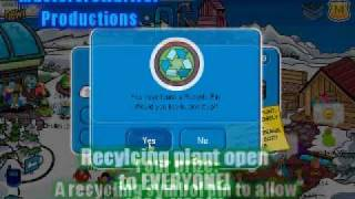 Club Penguin Cheats - Earth Day party, Scavenger Hunt & Pin