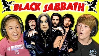 KIDS REACT TO BLACK SABBATH