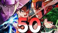 TOP 50 ANIME OPENINGS | Kurono