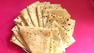 Soft Chapathi Recipe