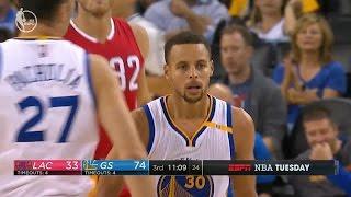 Golden State Warriors vs LA Clippers - Full Game Highlights - 2016-17 - NBA Preseason
