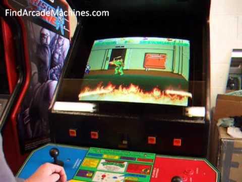 turtles arcade machine