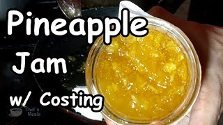 Pineapple Jam | Food Business Idea w/ Complete Costing