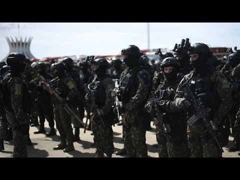 Massive security operation in place for inauguration of Brazil's Bolsonaro