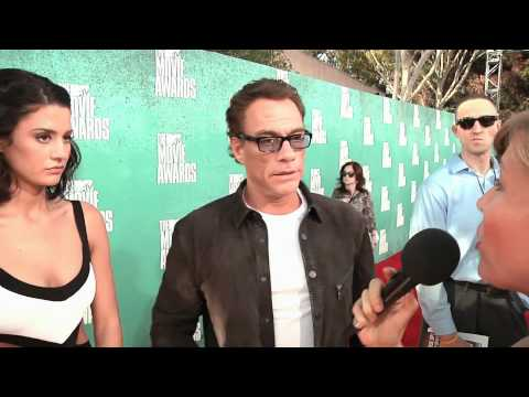 JeanClaude Van Damme with his daughter  MTV Music Awards 2012  The