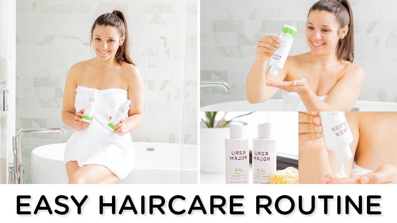 NATURAL HAIRCARE ROUTINE ‣‣ non-toxic & easy