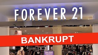 Why Are Forever 21 Stores Closing?
