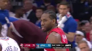 Toronto Raptors vs Philadelphia 76ers | May 5, 2019