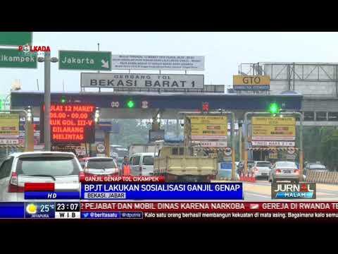 Ganjil Genap Tol Jakarta-Cikampek Dimulai 12 Maret