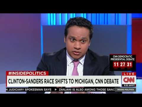 CNN's Manu Raju Highlights Hillary Clinton's Shifting Stance On Trade Policy