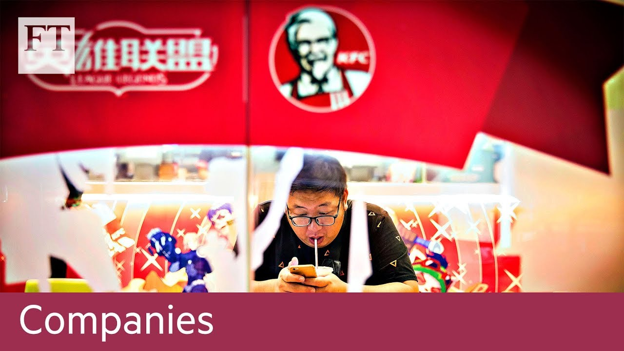 US fast-food chains put rural China growth on menu